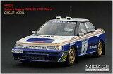 1/43 スバル レガシィ RS 1991 マンクスインターナショナルラリー 2位 #2 F.シャトリオ 【hpi-racing/MIRAGE】【4944258082707】