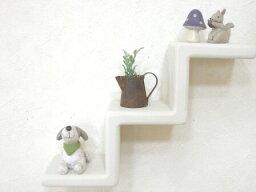 ステップシェルフS(3段))*小さな飾り棚・階段