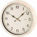 RoomClip商品情報 - 電波時計【エアリアルレトロ アンティークホワイト 】カントリーテイストのアンティーク風電波時計