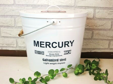 【MERCURY オーバルふた付きバケツ】ゴミ...の紹介画像3