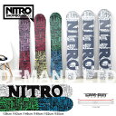 スノーボード 板 ナイトロ NITRO [DEMAND LTD CAM-OUT] ボード メンズ レ