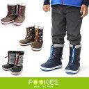 POOKIES [キッズ] PK-WP700 プーキーズ スノーブーツ ジュニア ユース 子供用 スノーブーツ 長靴 雪遊び スノー ブーツ キッズ