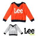Lee リー [LK0253] (キッズ) PANEL LOGO SWEAT トレーナー スウェット