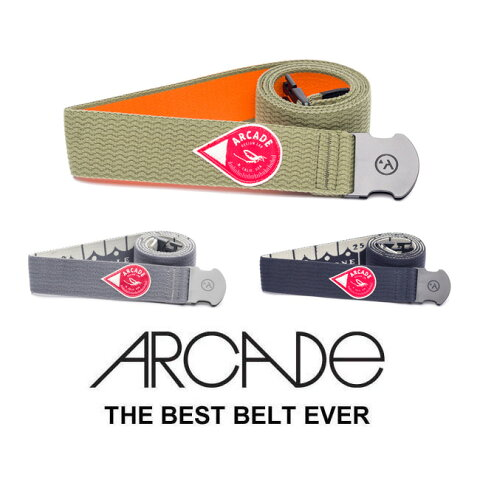 アーケードベルト ARCADE belt FW1718 (ARC11800) Drake ゴムベルトスノーボード スキー スケート [メール便] [1115]
