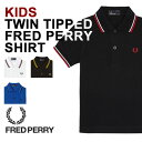 FRED PERRY フレッドペリー [キッズ] SY1200 CHILDREN POLO キッズポロシャツ KIDS TWIN TIPPED FRED PER...