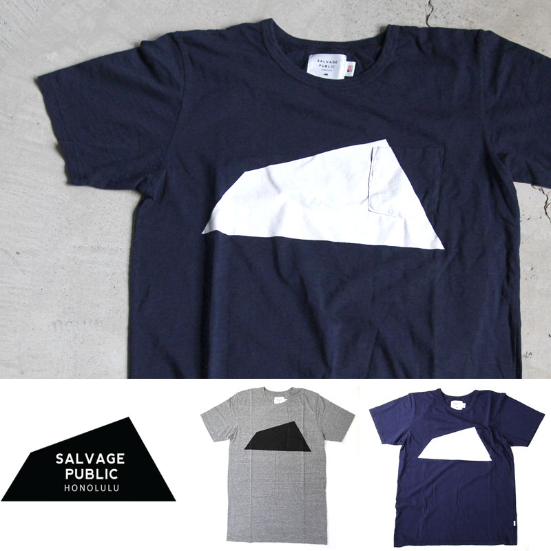 SALVAGE PUBLIC Diamond Head Logo TEE
