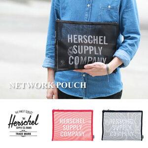 2015Spring�����ǥ�!��Herschel/�ϡ�������ۡ�NETWORKMESHPOUCHXL�ե�å���ݡ�������å�����å��Хå����ץ饤bag�ϡ������륵�ץ饤���ǥ�����
