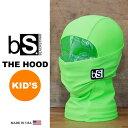 [メール便対応]《キッズ》THE KIDS HOOD [BS54] [BRIGHT GREEN] 【Blackstrap / ブラックストラップ】【MADE I...