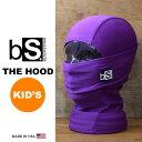 Blackstrap / ブラックストラップ THE KIDS HOOD [BS57] [PURPLE] 【MADE IN USA】[メール便対応] ジュニア用...