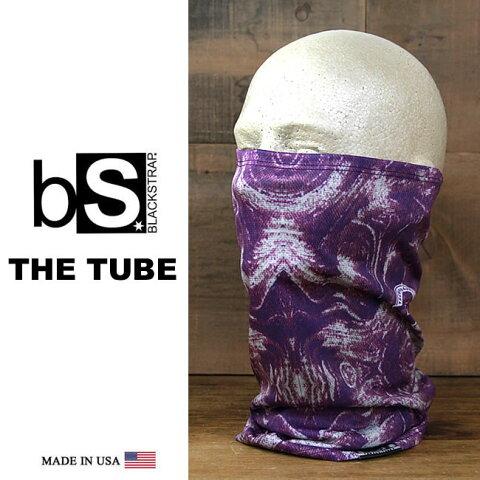 フェイスマスク スノーボード 防寒 [メール便]THE DAILY TUBE [BS46] [PURPLE HAZE] Blackstrap ブラックストラップ 【MADE IN USA】facemask 日焼け止め