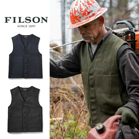フィルソン ベスト Filson [#10055] MACKINAW WOOL VEST マッキーノ ベスト ウールベスト 米国製 made in USA 2
