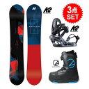 スノーボード 3点セット メンズ ボード K2 18/19 ...