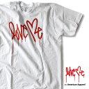 [メール便対応]Love me メンズ T-shirt[White]アメアパ loveme アメリカンアパレル Tシャツ ラブミー