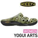 KEEN キーン レディース YOGUI ARTS (CAMO GREEN)[1003581]ヨギ アーツ サンダル