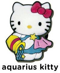 《メール便対応》ハローキティージビッツ《CROCS》Aquarius Kitty Jcell メンズ レディース キッズ ジビッツ jibbitz キティ 靴 3tz2