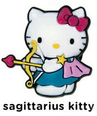 《メール便対応》ハローキティージビッツ《CROCS》Sagittarius Kitty Jcell メンズ レディース キッズ ジビッツ jibbitz キティ 靴 3tz2