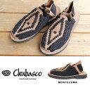 チュバスコ サンダル CHUBASCO [MONTEZUMA] BLK COFFEE メンズ 編み込みサンダル コンフォートサンダル 【15P】