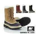 《10%OFF》ソレル カリブー《レディース》SOREL WOMEN's CARIBOU (NL1005) ブーツ 防寒靴 寒冷地 スノーブーツ 防寒ブーツ 女性 女の子 10P03Dec16