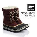 《10%OFF》ソレル ブーツ《レディース》SOREL Women's 1964 Pac2 (NL1645)1964パック2 防寒靴 寒冷地 スノーブーツ 防寒ブーツ 女性 女の子 10P03Dec16