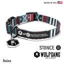 犬の首輪 犬首輪 WOLFGANG MAN & BEAST ウルフギャング STANCE COLLAR【Ssize/小型犬用】WL-001-70 ポリエステルカ...