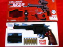 S&W-M29 .44マグナム 6in  ドットサイト付 HOP-UPエアガン (10歳以上) クラウンモデル