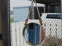 Wall Rope Mirror (Round) ウォールロープミラー (ラウンド) 鏡 船窓 DETAIL インテリア アンティーク仕上