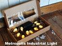 Metropolis Industrial Light メトロポリスインダストリアルライト 乾電池式 LED 照明 ディスプレイ イルミネーション DETAIL