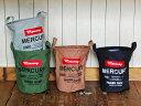 RoomClip商品情報 - Mercury(マーキュリー)キャンバスバケツ M【全4色】アメリカン雑貨 ゴミ箱 収納 ランドリー