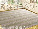 Kotサイノス グリーン8畳(352x352) 江戸間 折り畳みカーペット