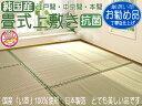 Iuk畳式 江戸間 2畳(176x176) い草カーペット上敷き