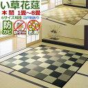 い草 カーペット ござ 2畳 本間 /IGチェック/ 191...