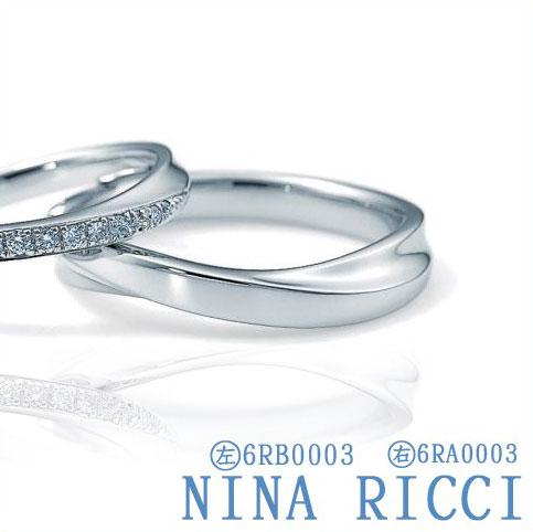 *+刻印無料+*【NINA RICCI ニナリッチ】【送料無料】結婚指輪 マリッジリング メンズ 6RA0003【Pt900】★☆** ジュエリー・アクセサリー 結婚指輪 マリッジリング メンズ NINA RICCI