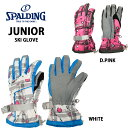spalding/スポルディングジュニア/スキーグローブ14GSPB450【レターパックも対応】【RCP】