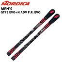 SALE/セール【送料無料】nordica/ノルディカ2016/2017モデル/メンズ/スキー+ビンディングセット1617GT75-EVO/GT75 EVO