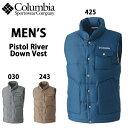 SALE/セール 送料無料/columbia/コロンビアメンズダウンベストPistol River Down Vest/PM1744【あす楽対応_北海道】