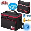 ソフトクーラー 容量5L 【ブラック】 保冷バッグ クーラーバッグ クーラーボックス ◆送料無料◆