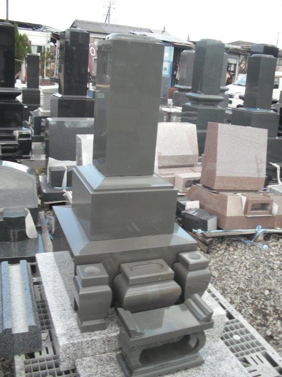 墓石 和型8寸 白・赤・黒・各色御影石 石代のみ