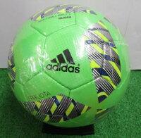 アディダス サッカーボール AF5104G サイズ:5 グリーン *旧モデル・少々汚れありにつきお買い得!!の画像