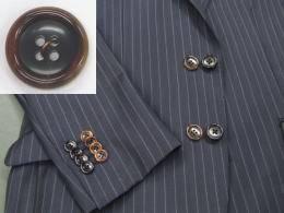 スーツ 本水牛ボタン付け替えボタン代金+工賃「...の紹介画像3