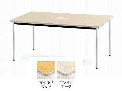 TOKIO【藤沢工業】 ミーティングテーブル(会議用テーブル) 角型天板・ソフトエッジ・棚無・角脚タイプ PTD-1890K W1800xD900xH700mm 【送料込み】納期 約4日後出荷