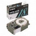 カシオ計算機 ネームランド用テープ XR−12X 透明黒12mm