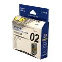 エネックス【Rejet リサイクルインクカートリッジ】 Epson(エプソン) IC1BK02対応 EE02-BK