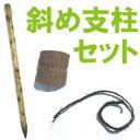 カンタン!斜め支柱セット 150cm杭 【植木組合オリジナル】台風・強風対策