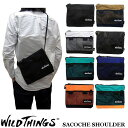 WILD THINGS SACOCHE SHOULDER ワイルドシングス サコッシュ ショルダー バッグ WILDTHINGS WT-380-0072