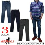 �ڿ��̸����GRAMICCI DENIM SKINNY PANTS ��3��������ߥ����ǥ˥ࡡ���ȥ�å��������ˡ��ѥ�� GMP-15F005
