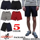 GRAMICCI PACKABLE SHELL SHORTS グラミチ ナイロン素材 ショート パンツ 全5色 GUP-16S001