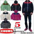 CHUMS FLEECE ELMO HOODY 全5色 チャムス フリース エルモ フーディ フード付きジップアップフリース CH04-1010 CH14-1010