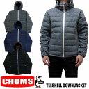 CHUMS TEESHELL DOWN JACKET 全3色 チャムス ティーシェル ダウンジャケット CH04-1185 CH04-1110