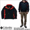 2016新作 Columbia BUGABOO 1986 INTERCHANGE JACKET WE1190 コロンビア バガブー1986 インターチェンジジャケット 3WAY ナイロンジャケット マウンテンパーカー フリース