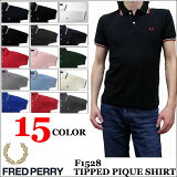 2016���� FRED PERRY TIP LINE POLO SHIRTS F1528 ��15�� �ե�åɥڥ꡼ �ƥ��åץ饤��ݥ?��� ������